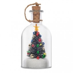 Christmas bottle 12.5 cm