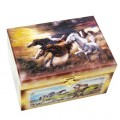 Treasure box horses